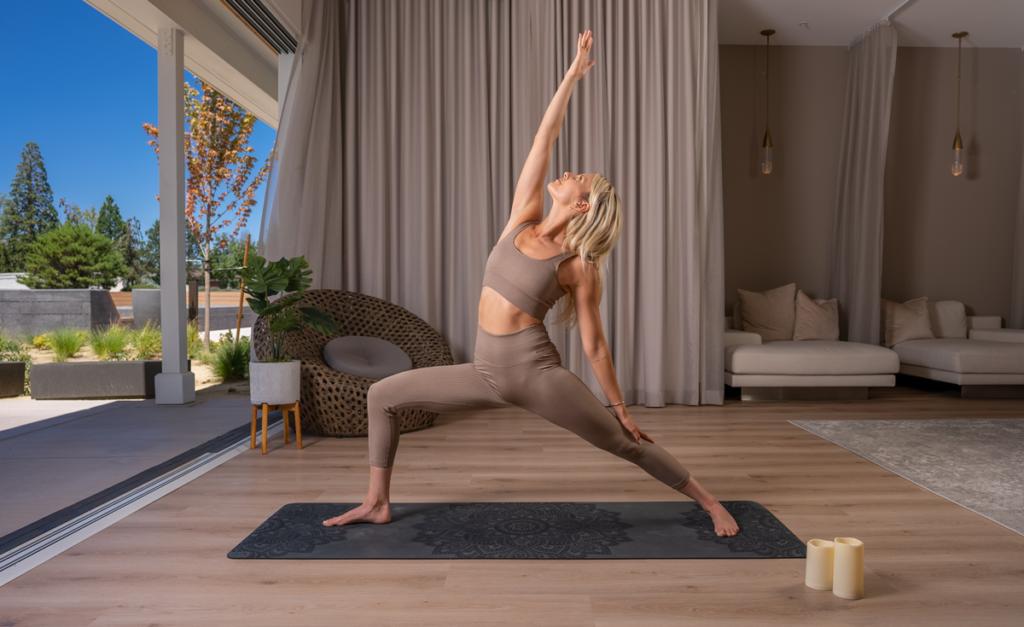 Yoga Instructor Alex Farrar